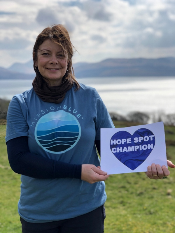 College Lecturer contributes to Scotland's first Mission Blue Hope Spot